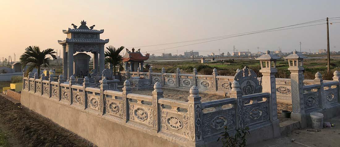 Đá mỹ nghệ Gia Huy, Xây lăng mộ đá, Xây mộ đá (Nhà mồ đá) đẹp, giá cạnh tranh hàng đầu tại Việt Nam hiện nay!