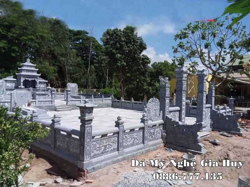 Khu Lăng Mộ đá đẹp được tư vấn, xây dựng tại Quảng Nam năm 2020
