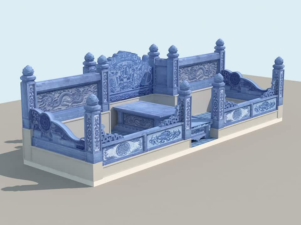 Xây dựng Khu Lăng Mộ đá họ tộc đẹp tại Nam Định