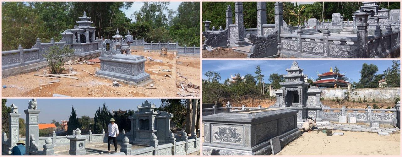 Đá mỹ nghệ Gia Huy đơn vị tư vấn thi công Xây dựng Lăng mộ đá đẹp, Xây Mộ đá đẹp, cao cấp Hàng đầu tại Việt Nam hiện nay
