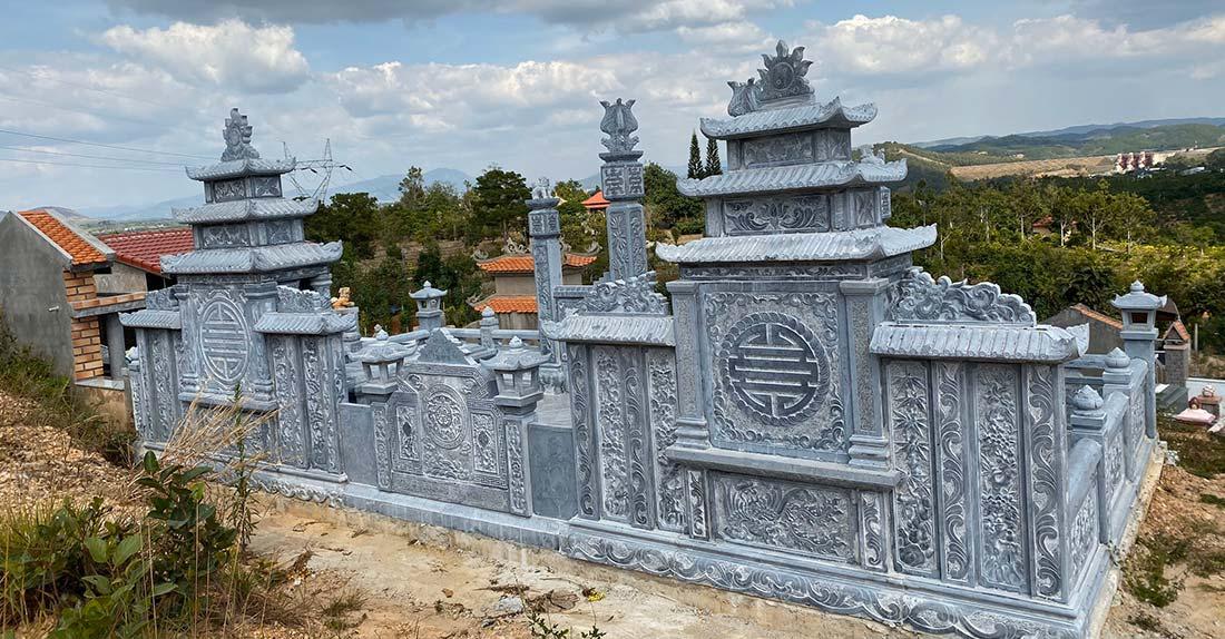 Tư vấn, khảo sát, phối cảnh, thiết kế và thi công, xây dựng Khu lăng mộ đá cao cấp tại Quảng Nam.
