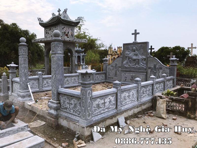 Xây dựng Khu Lăng mộ đá Công giáo đẹp tại tỉnh Nam Định