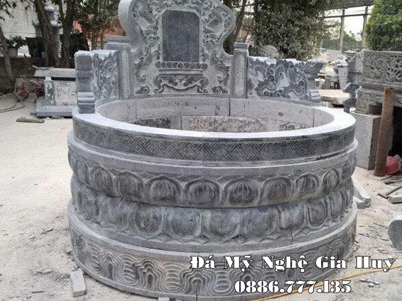 Mẫu Mộ tròn đẹp tựa Đài SEN cao quý và thanh cao