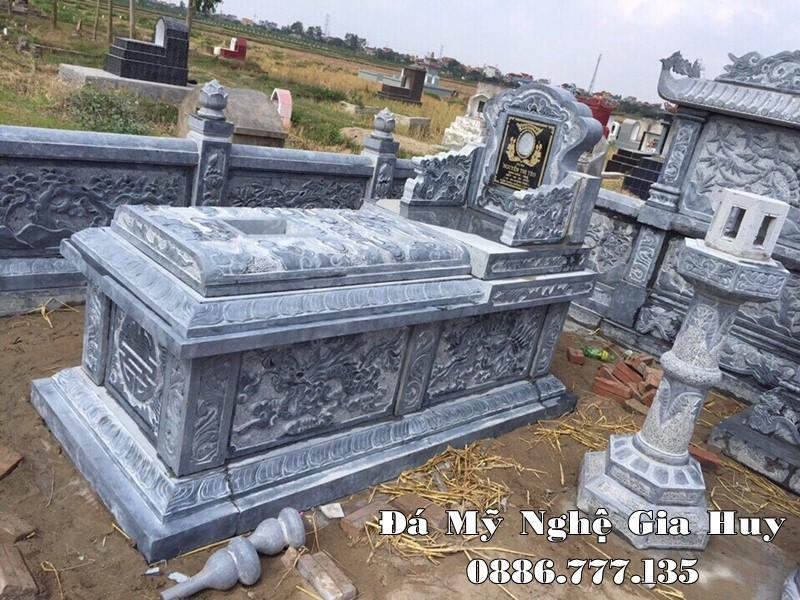 Mẫu Mộ đá Tam Sơn cao cấp năm 2021